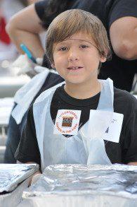 Kids Volunteer