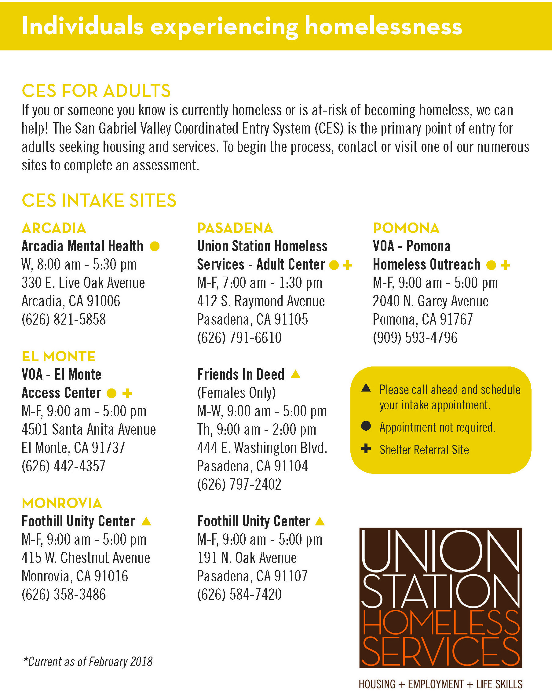 Ushs 2018 Outreach Card Print 1 Union Station Homeless Services